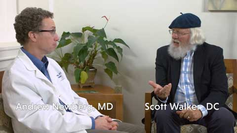 Dr. Scott Walker interviews Dr. Andrew Newberg - Part 2